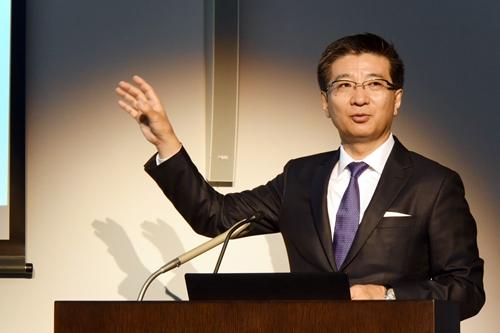 代表取締役社長の福田尚久氏
