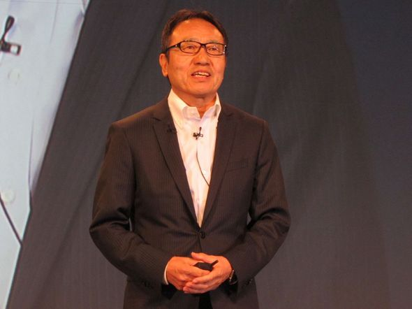 ソフトバンク代表取締役社長 兼 CEOの宮内 謙氏