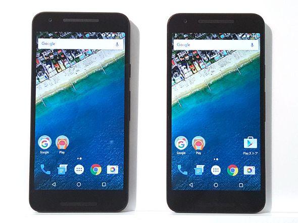 Nexus 5Xはドコモとソフトバンクから発売される