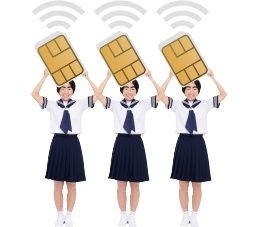 SIMカードは最大3枚
