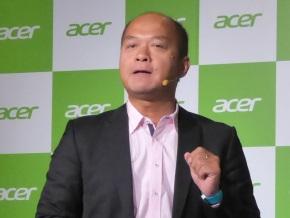 台湾Acerのエス・ティー・リュウ氏
