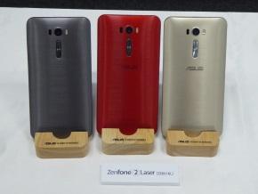 「ZenFone 2 Laser(ZE601KL)」の背面