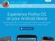 Mozilla、Android端末のROM書き換えなしで「Firefox OS」を体験できるプレビューアプリを公開