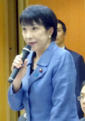 第2回会合に出席した高市早苗総務大臣
