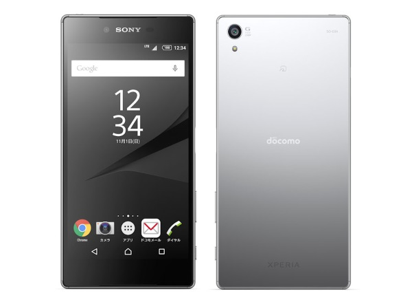 �uXperia Z5 Premium SO-03H�v��Chrome