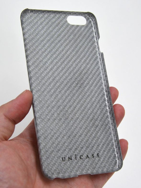 「Glass Fiber Case for iPhone6s Plus/6 Plus Silver」