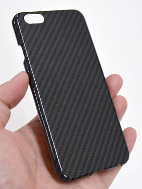 ケブラー製の「Kevlar Case for iPhone6s/6 GLOSSY Black」