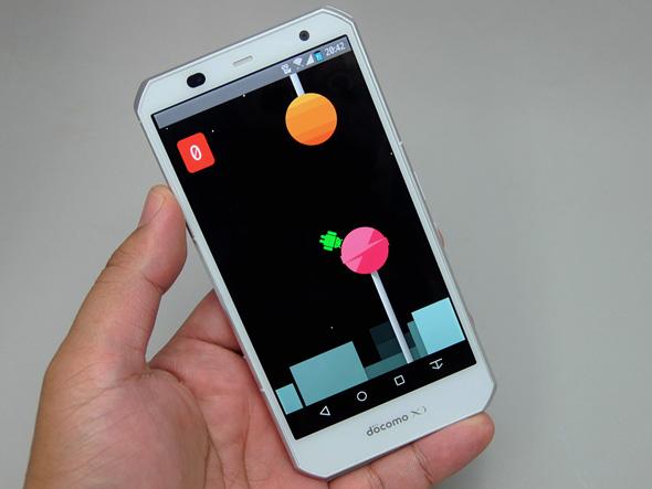 Android 5.0にバージョンアップした「ARROWS NX F-02G」