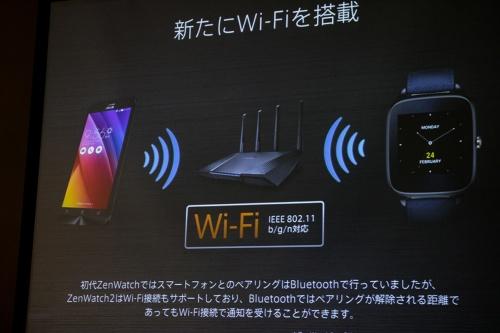 新たにWi-Fiを搭載
