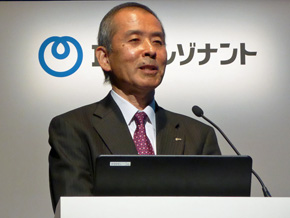 NTTレゾナントの若井昌宏社長