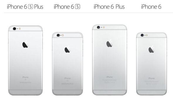 �uiPhone 6s�v�ƁuiPhone 6�v