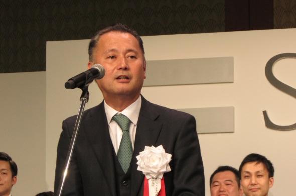 審査委員長の久木田氏