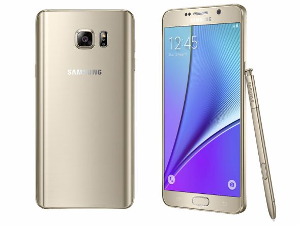 �uGalaxy Note 5�v