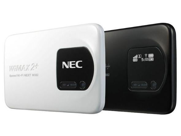 「Speed Wi-Fi NEXT WX02」