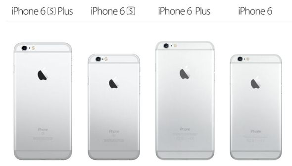 iPhone 6sとiPhone 6