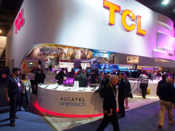 CES 2016のAlcatelブース