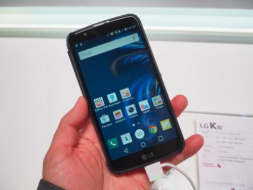LGエレクトロニクス「K10」