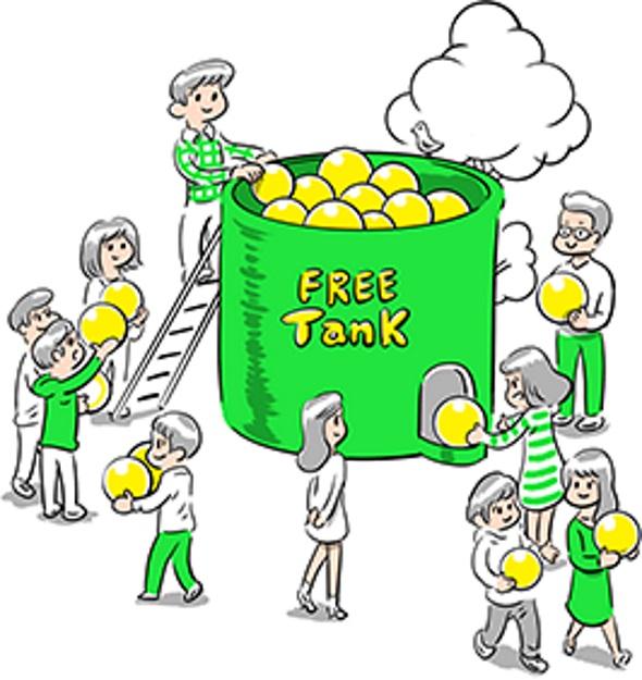 mineoの新サービス「フリータンク」