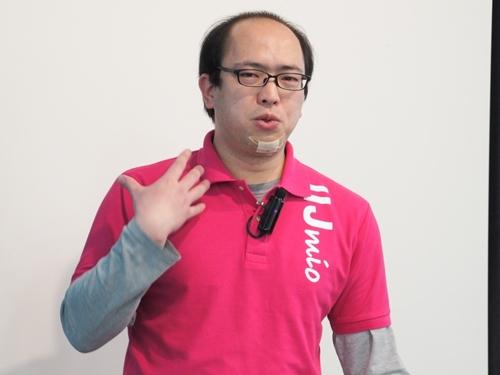 IIJ広報部・技術広報担当課長の堂前清隆氏