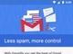 Gmailのスパム対策機能などをMicrosoftやYahoo!のアカウントでも使える「Gmailify」