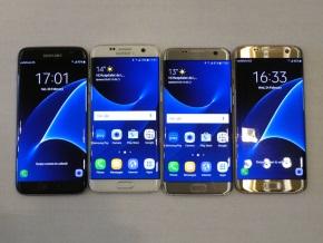 Galaxy S7 edge正面