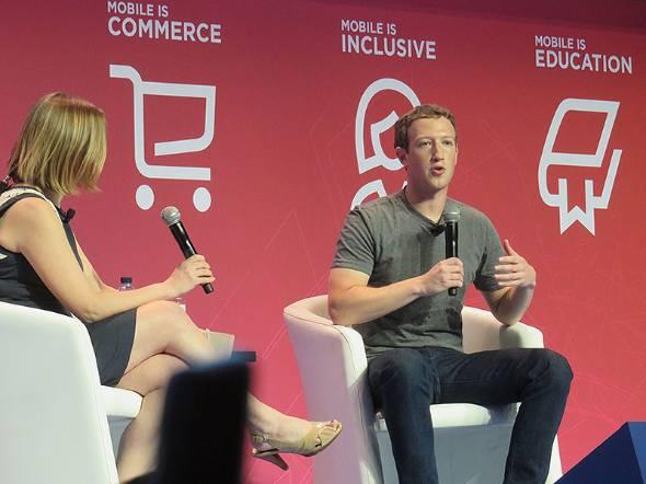 Facebookの共同創業者兼CEOのマーク・ザッカーバーグ氏