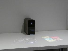 Xperia Projector(テーブル投影)