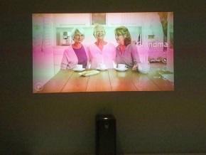 Xperia Projector(テレビ電話)