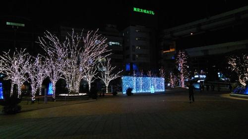 夜景を撮影