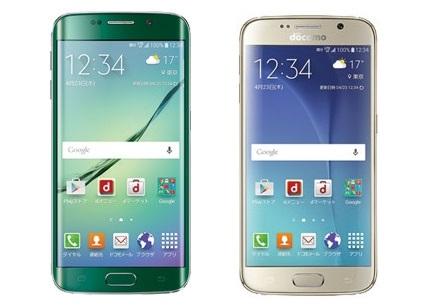 Galaxy S6 edgeとGalaxy S6