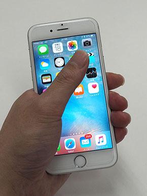 iPhone�T�C�Y��r