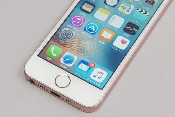 iPhone SE�̃��[�Y�S�[���h