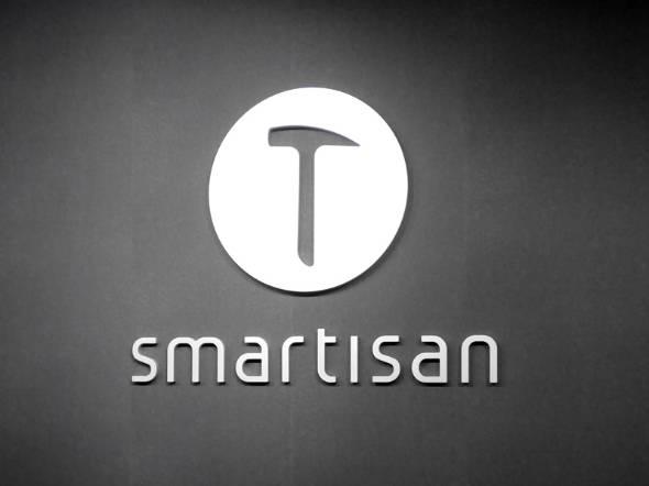 SmartisanのCIとロゴ