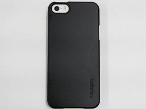 シン・フィットを装着したiPhone 5s(裏面)