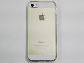 ウルトラ・ハイブリッドを装着したiPhone 5s(裏面)