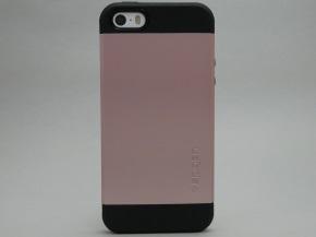 スリム・アーマーを取り付けたiPhone SE(背面)