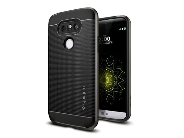 LG G5用「ネオ・ハイブリッド」(ガンメタル)