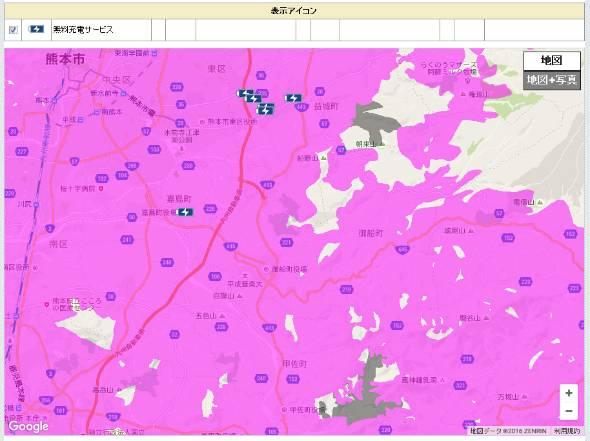 通信障害が発生中のドコモは復旧エリアマップを公開した