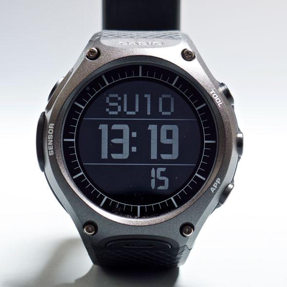 WSD-F10 タイムピースモード