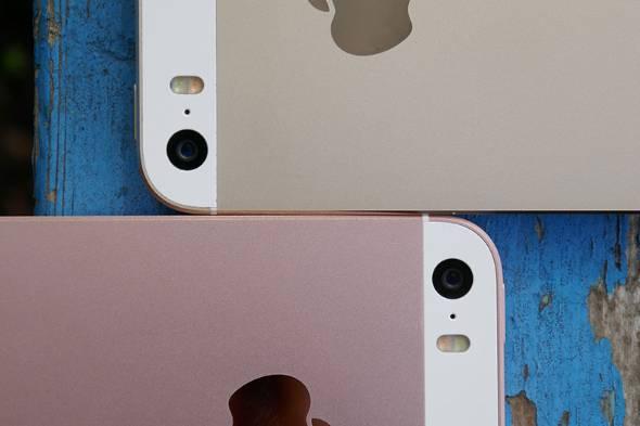 iPhone SEのカメラ