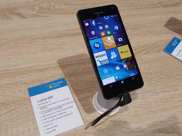 「Lumia 650」