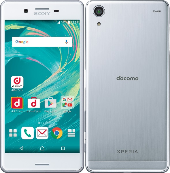 Xperia X Performance SO-04H(ホワイト)