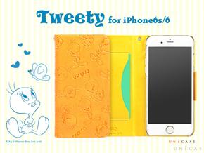 3bd5f681093e キュートなトゥイーティーのiPhone 6s/6向けケースが発売――UNiCASEから ...