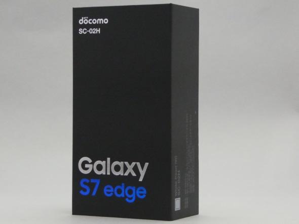 Galaxy S7 edge SC-02Hのパッケージ