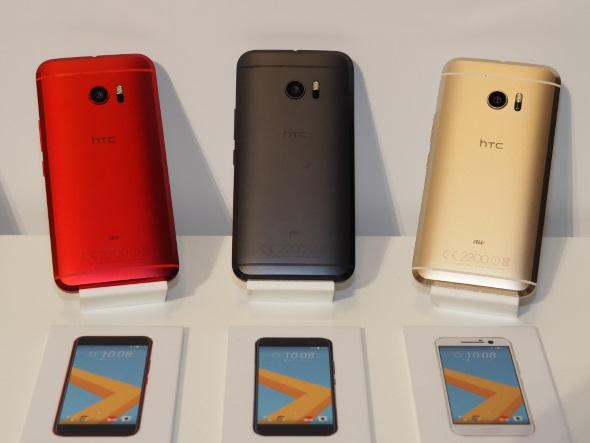HTC 10 HTV32の背面