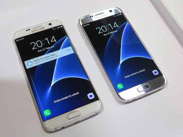 Galaxy S7 edgeを分解