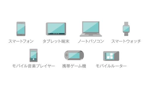 保険の対象となる「モバイル機器」
