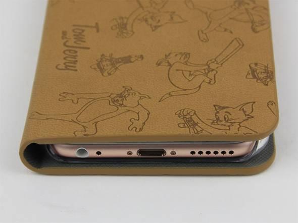 ワーナーキャラクター ウォレットケース トムとジェリー for iPhone6s/6