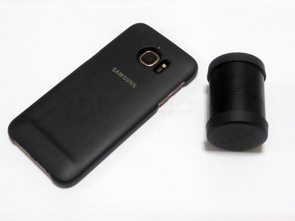 Galaxy S7 edgeのレンズカバーセット