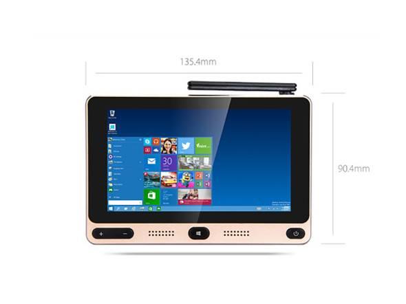 5型ディスプレイのWindows 10/Androidデュアルブート小型PC「GOLE1」